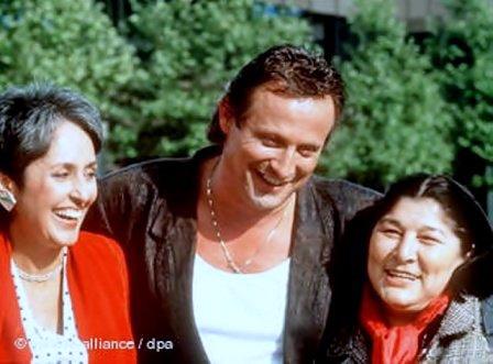 With Joan Baez and Konstantin Wecker