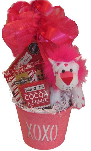 Chocolate Valentine Gift Baskets