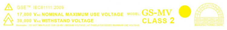 Medium Voltage Insulation Rubber Mat Label Malaysia