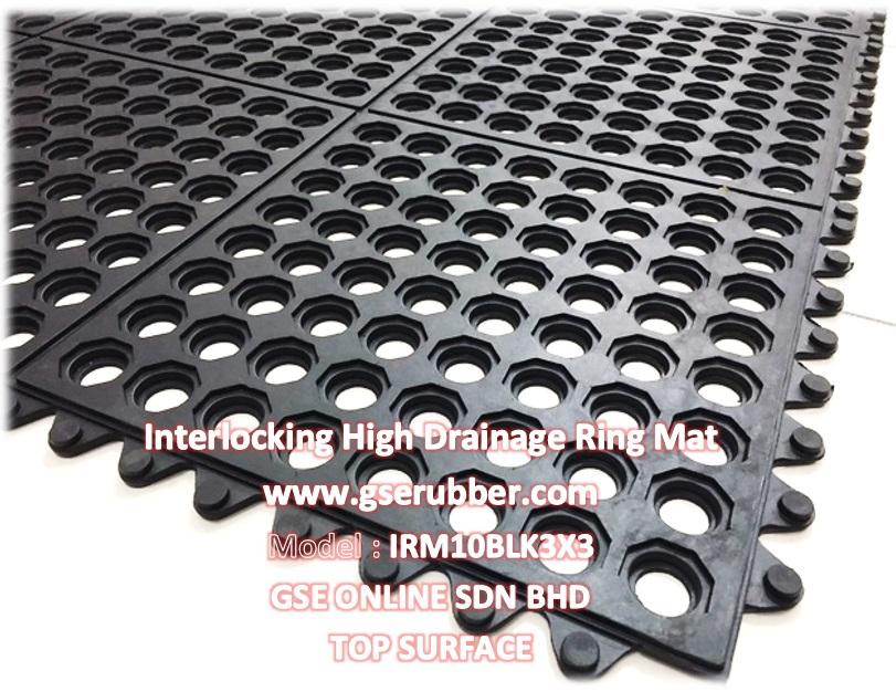 interlocking high drainage kitchen mat malaysia