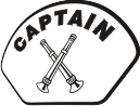 Helmet Front Decal (NG-1005F) Captain