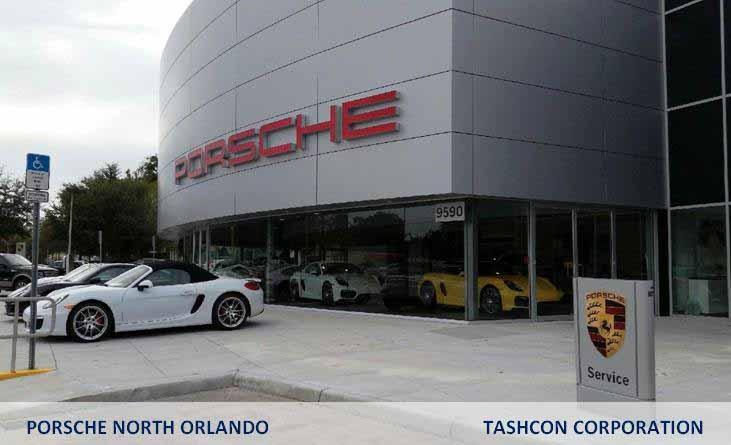 Porsche North Orlando, Tashcon