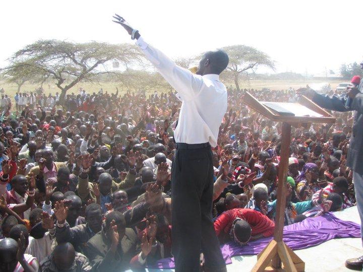 Kenya Preaching
