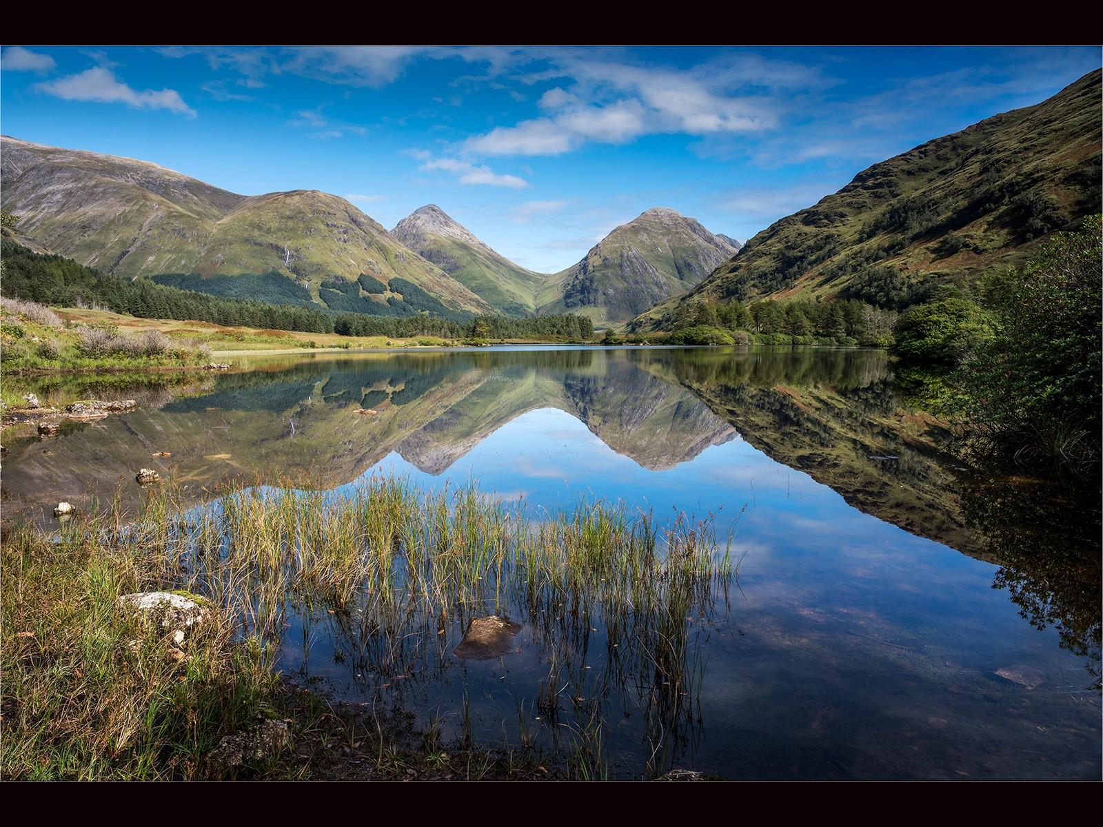 Loch Urr in Glen Etive  Scotland