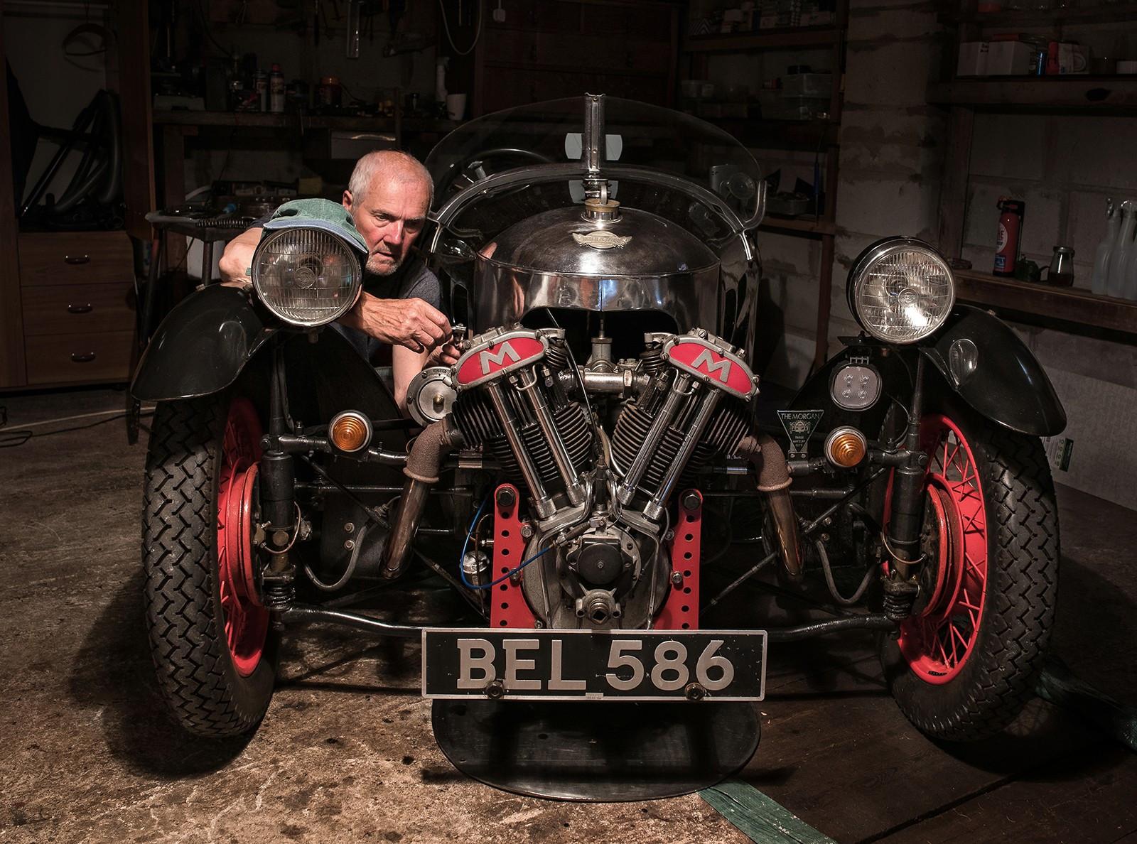 1935   Morgan Barrel back theer wheeler copy