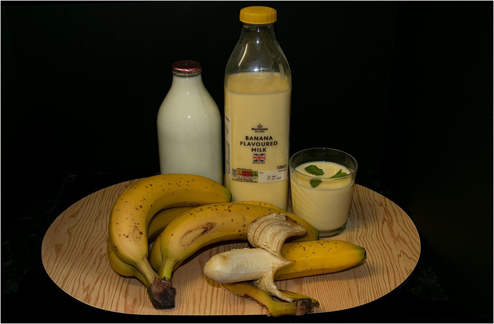 14.Banana Milk Shake