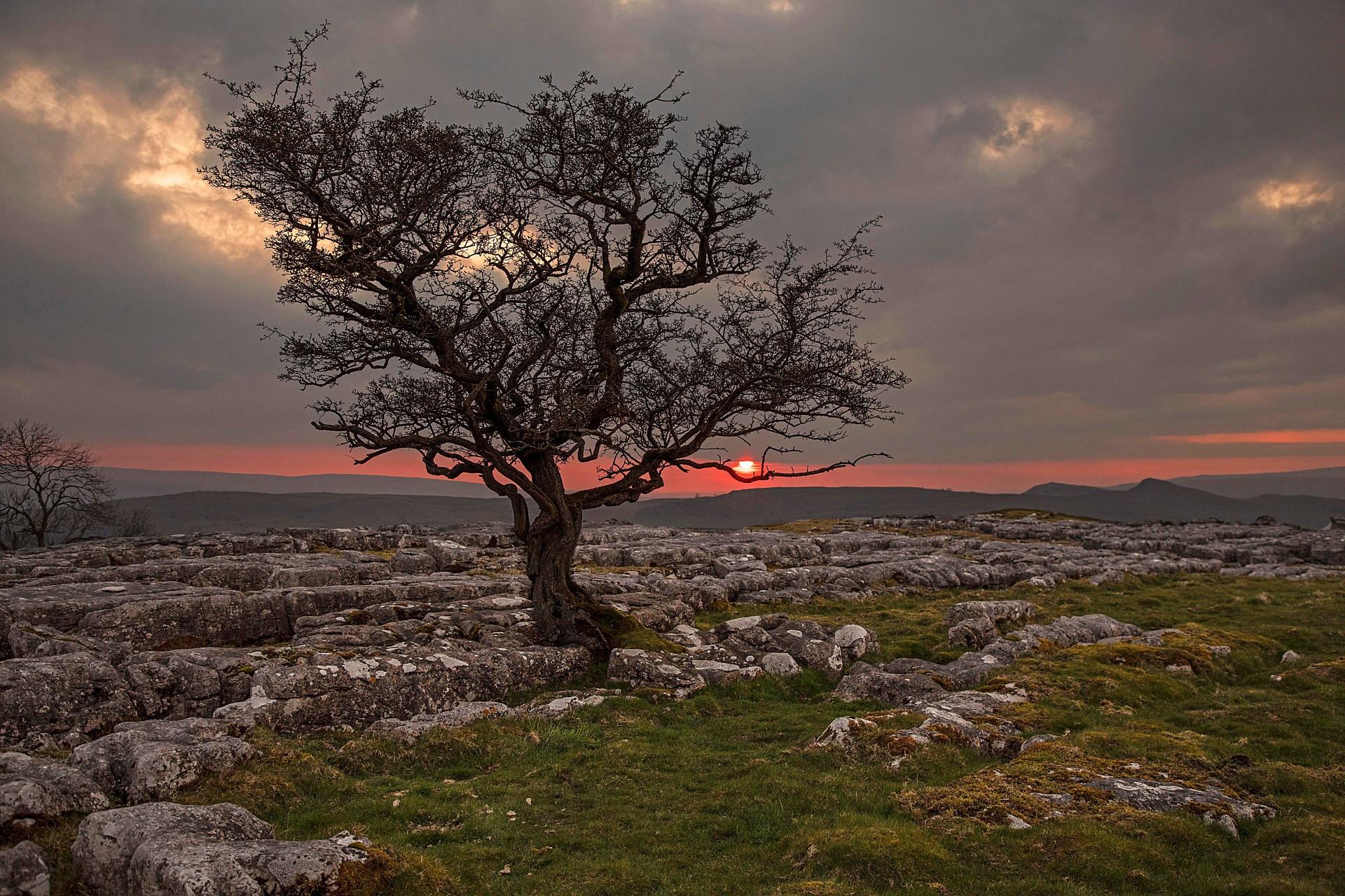 Sunset Winskill Stones