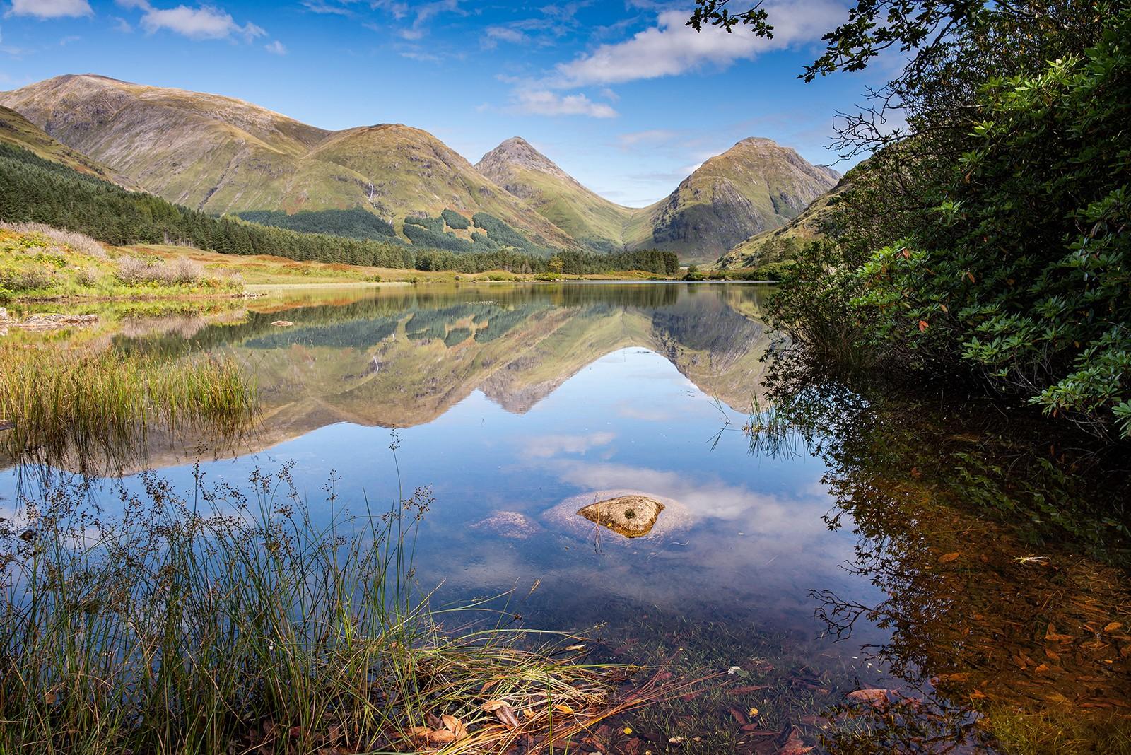 6.Lochen Urr. in Glen Etive Scotland..