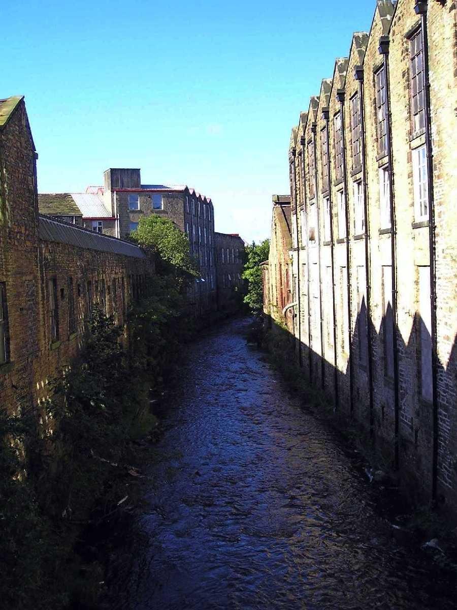 3. River Calder in Shadow