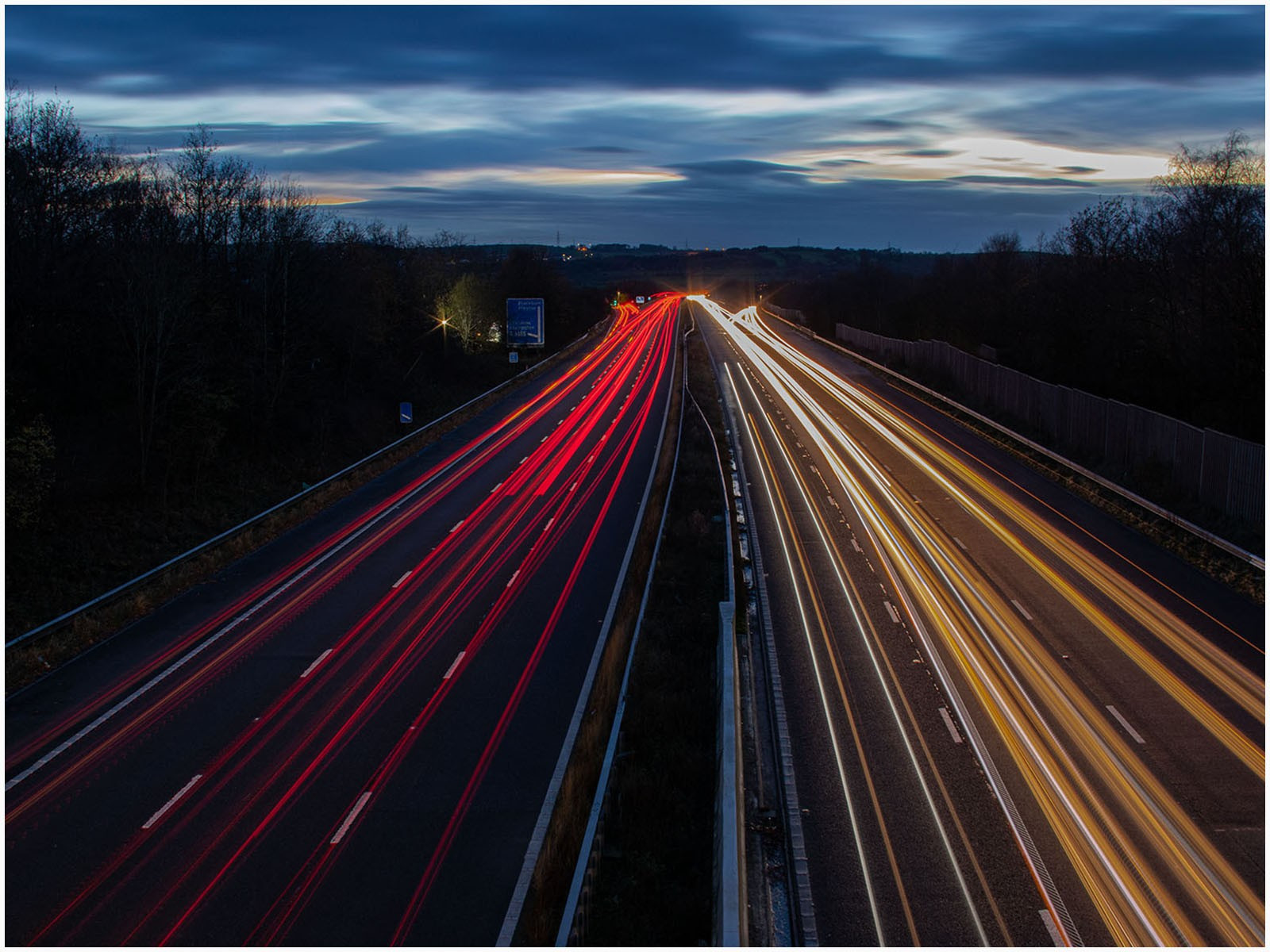 26. Motorway Tail Lights