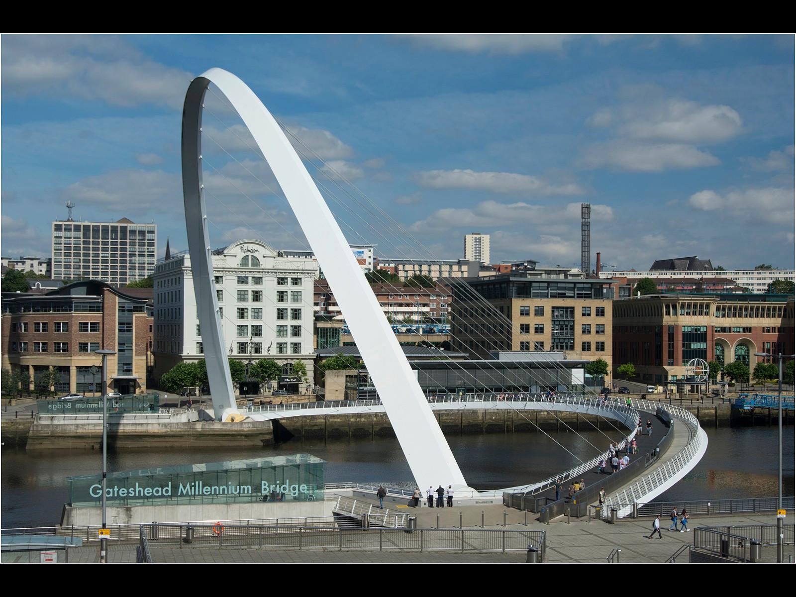 32. Gateshead Millennium Bridge