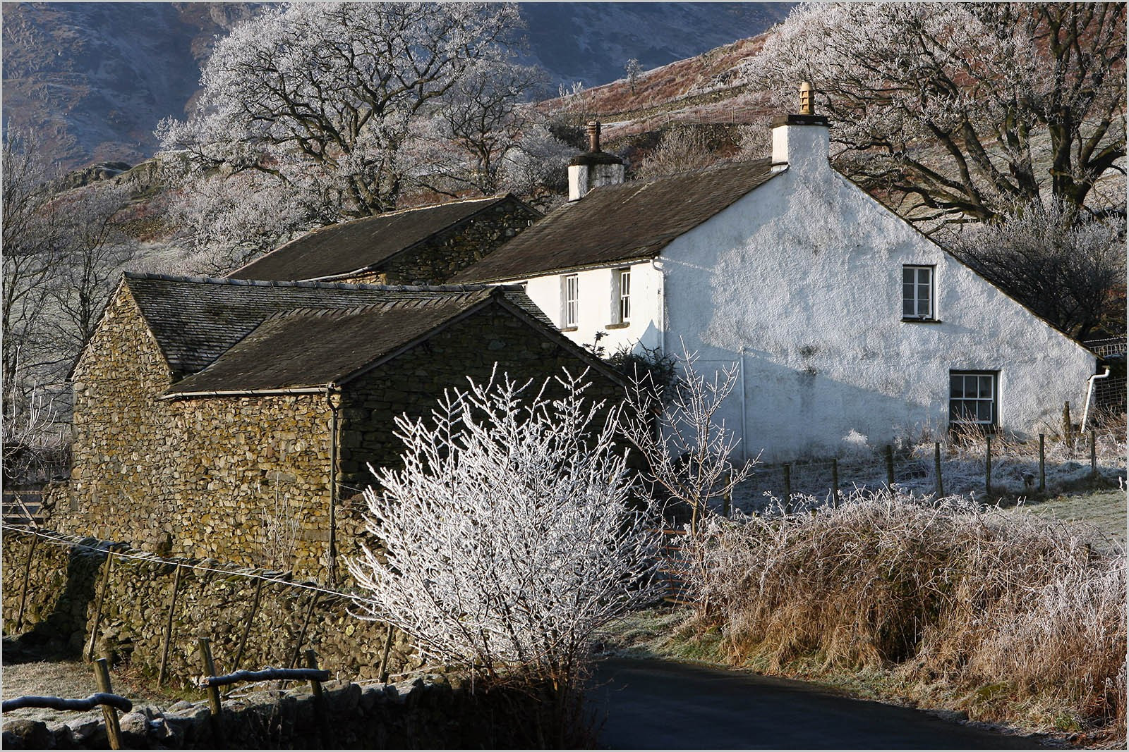 8.Langdale Farmhouse with Frost