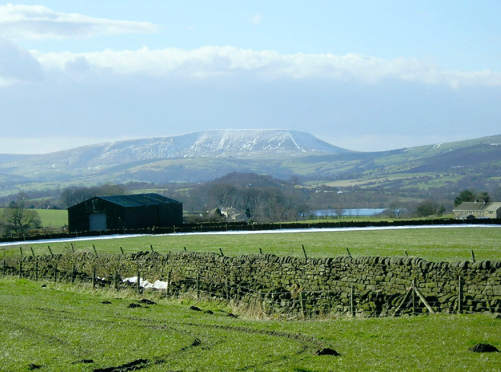 14.A white mop on Pendle