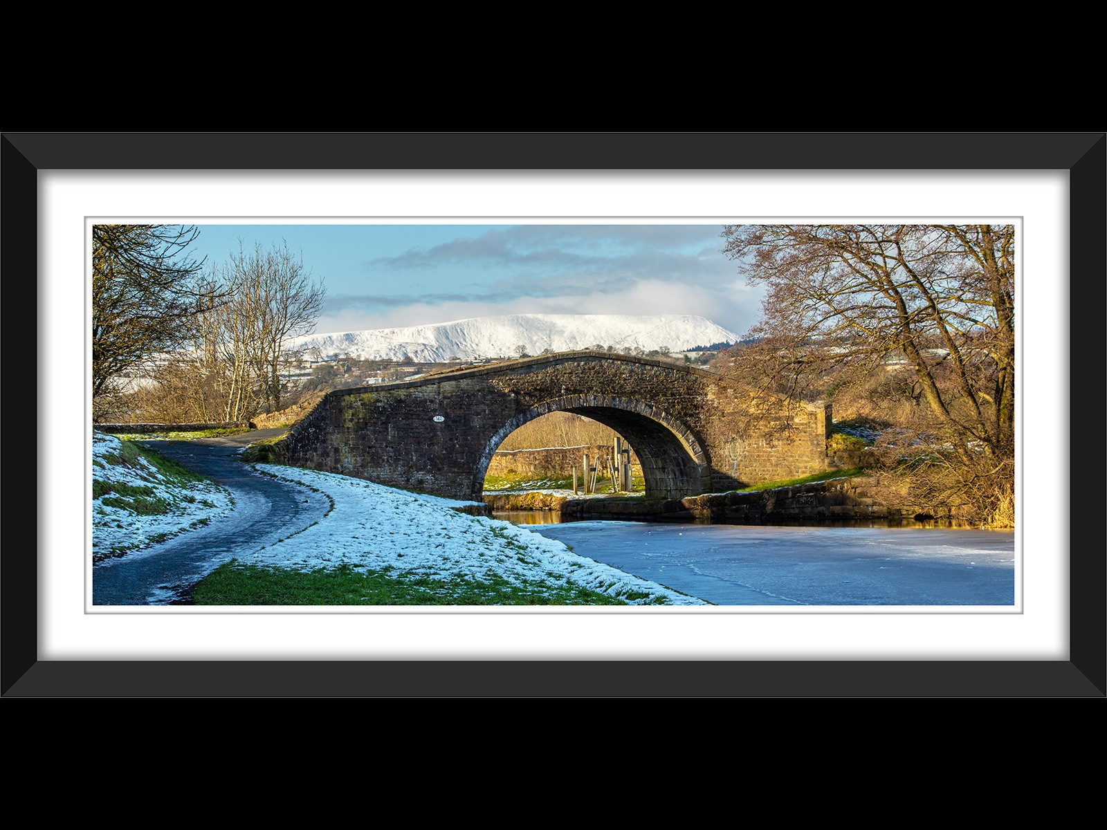 1.Winter view of Pendle Hill