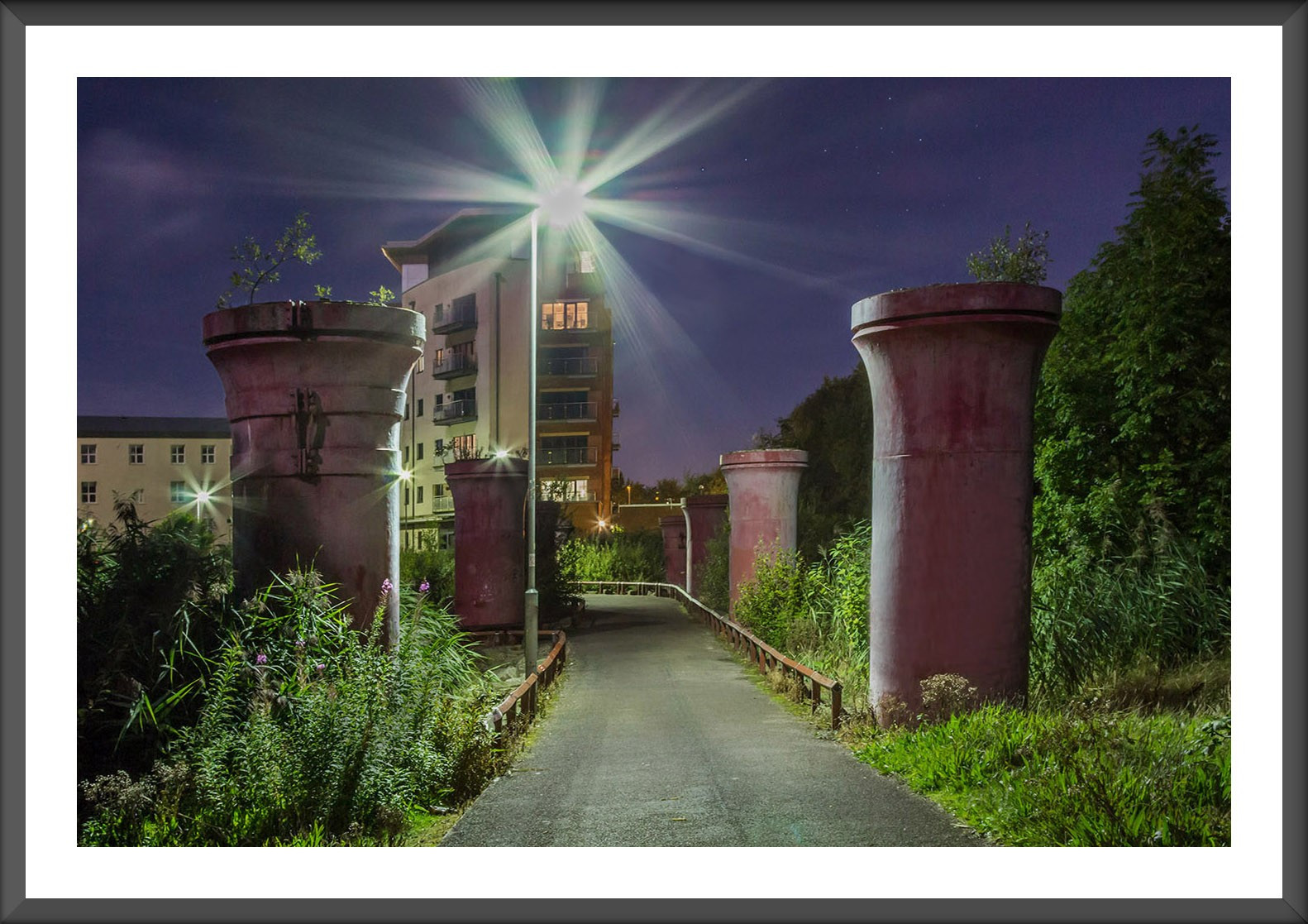 3.Platts Lodge at night F