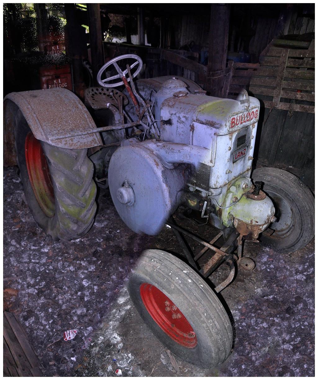 7. Bulldog Lanz Tractor