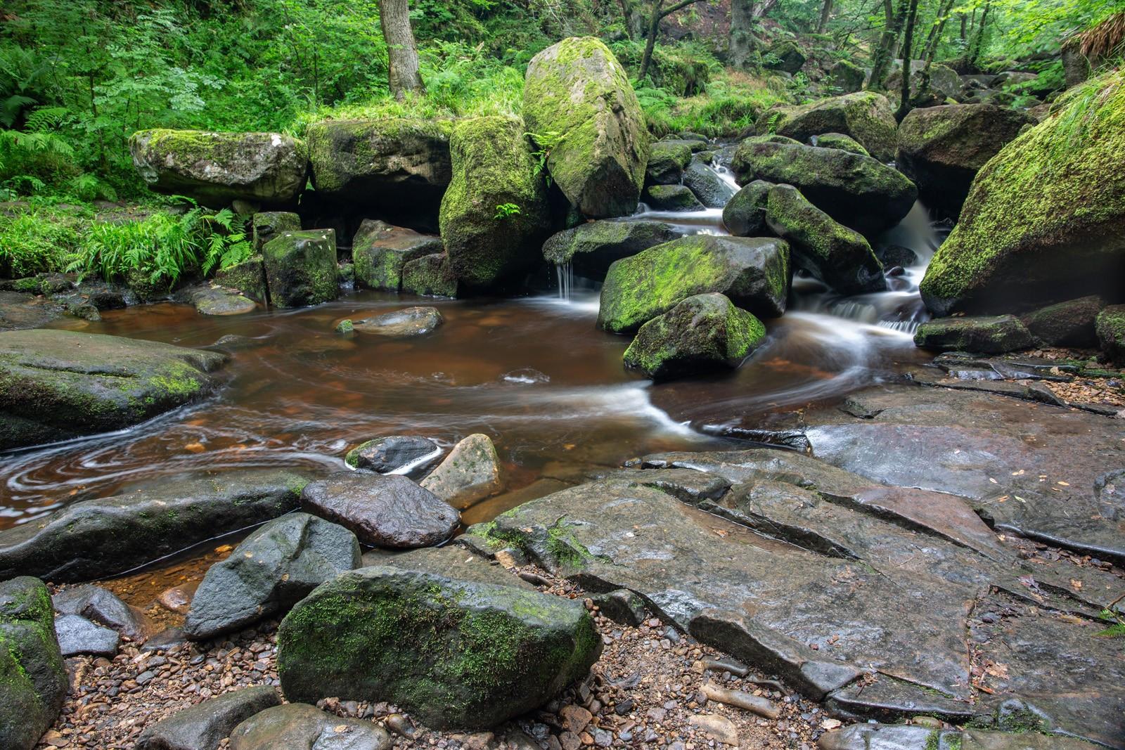13. Swirling Water, Padley Gorge