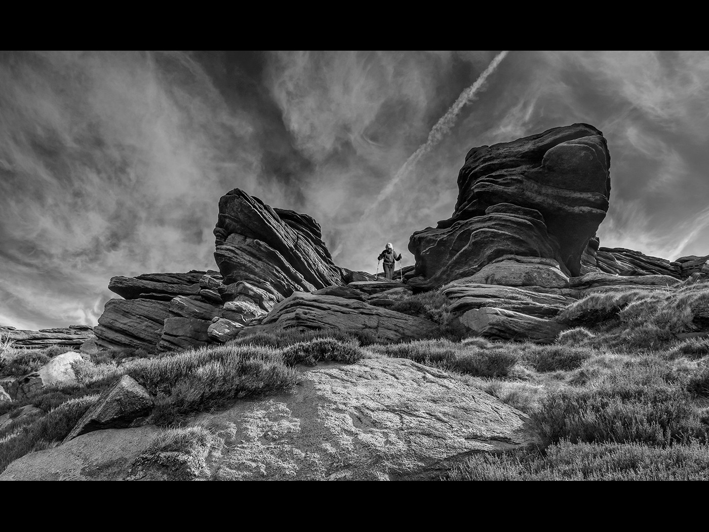 Rocks above widdop reservoir
