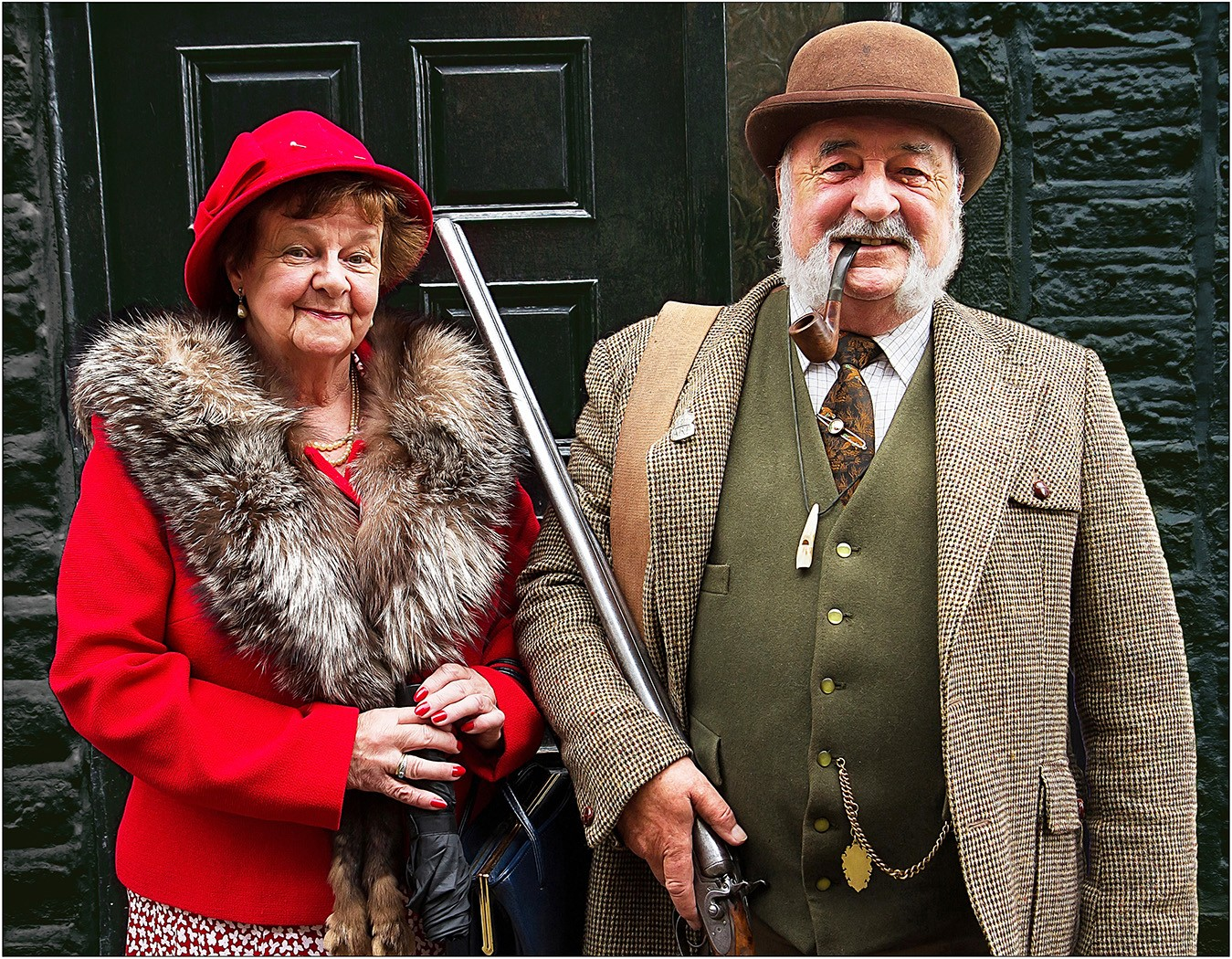 The Gamekeeper And His Wife