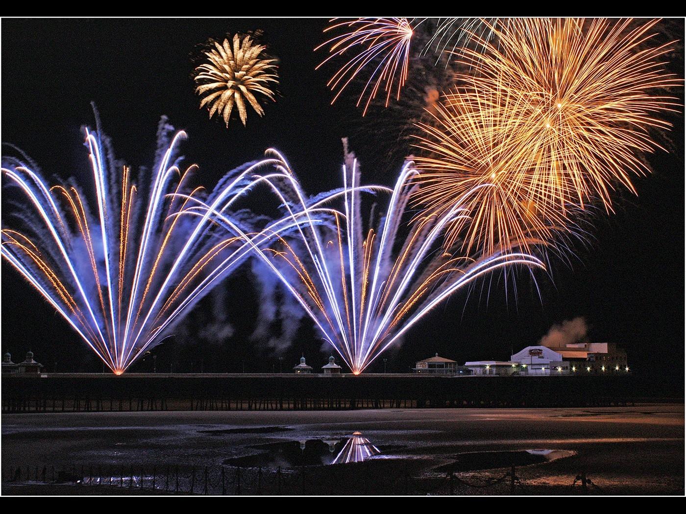 Blackpool Fireworks Display