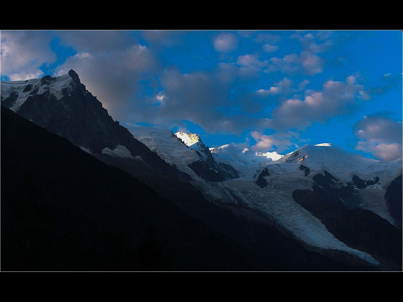 Sunrise over Mont Blanc