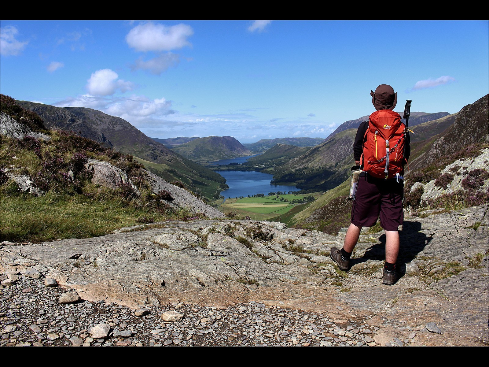 Looking Down The Buttermere Valley