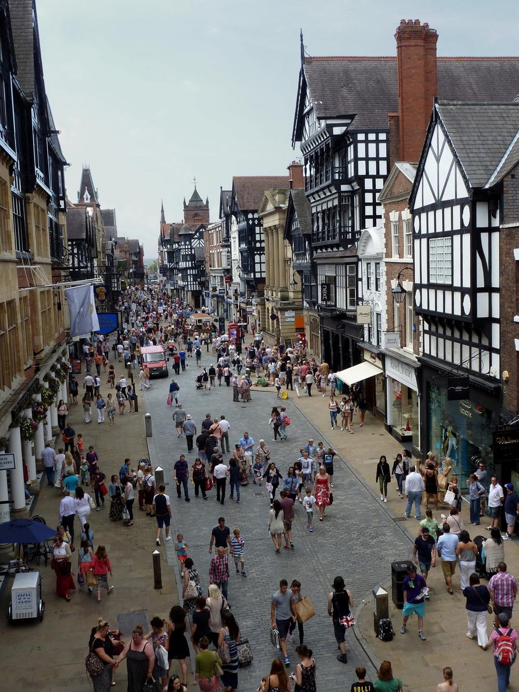 Busy Day at Chester