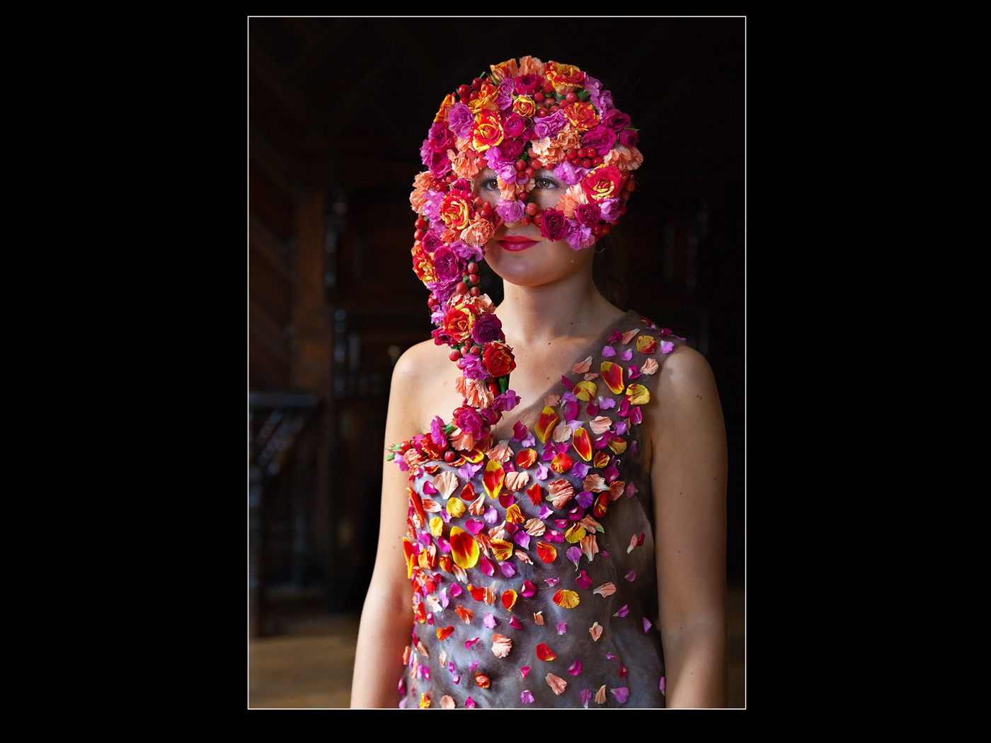 Floral Masquerade