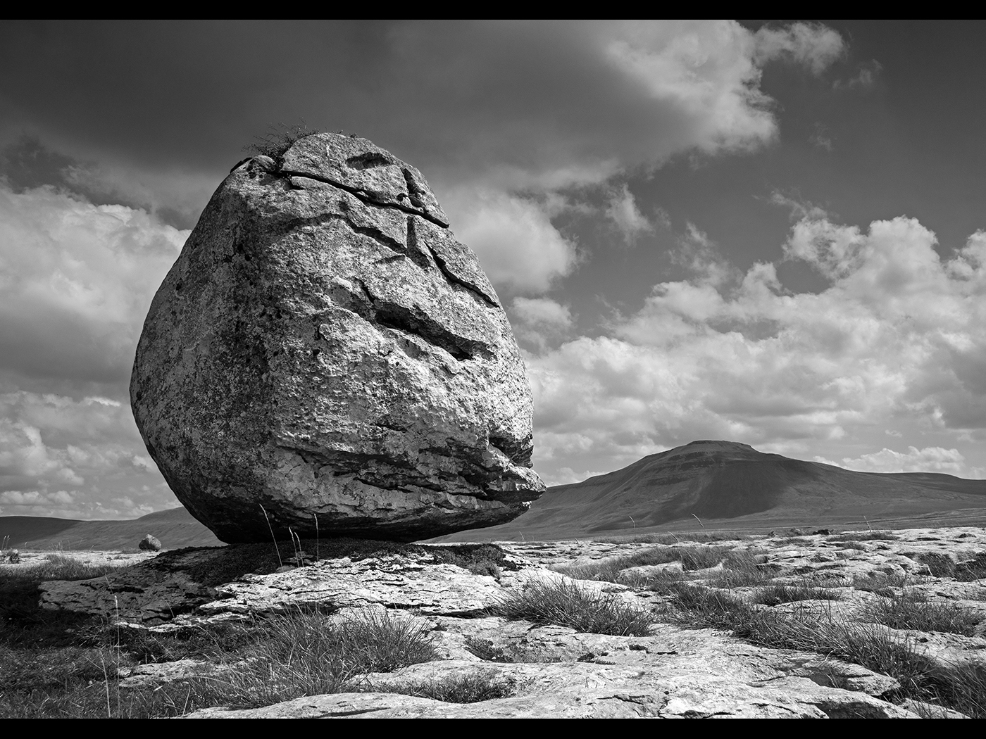 Large Boulder on Twiston Scar