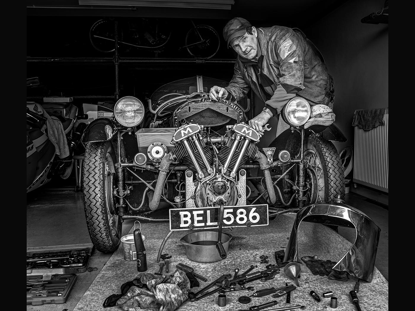 Morgan Three Wheeler  -  Repairs