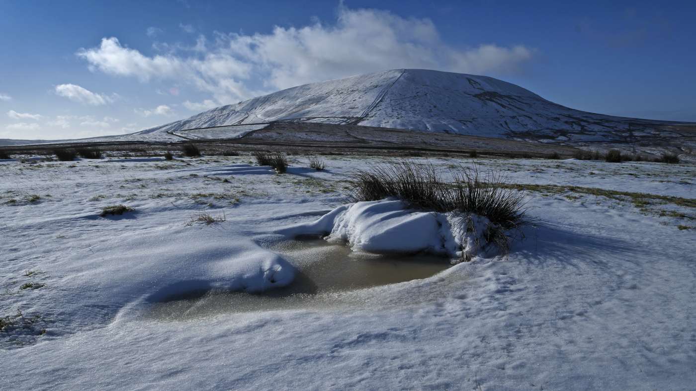 Pendle in Winter