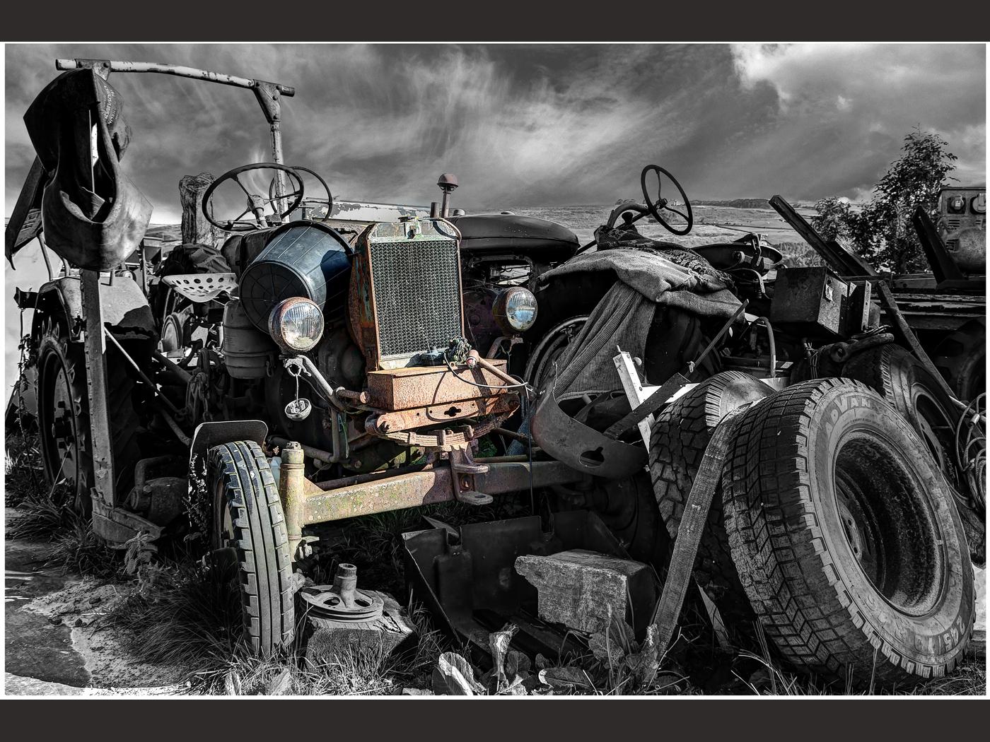 Tractor Junk Yard