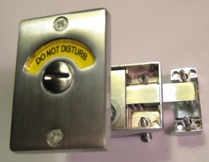 Do Not Disturb Indicator Lock, Do Not Disturb Hotel Lock, Do Not Disturb Lock