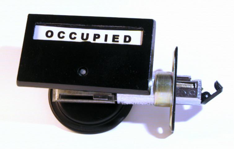 pocket door indicator lock occupied black