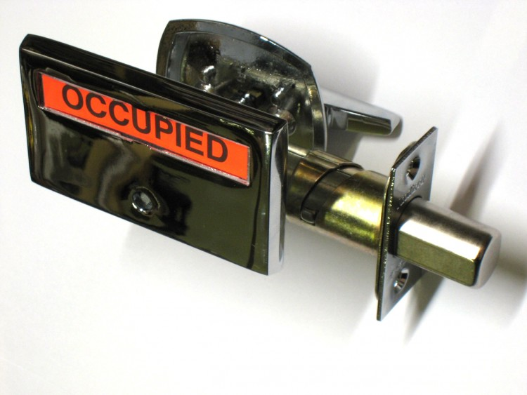 Bathroom Privacy Lock, Indicator Lock, ADA Occupied Lock