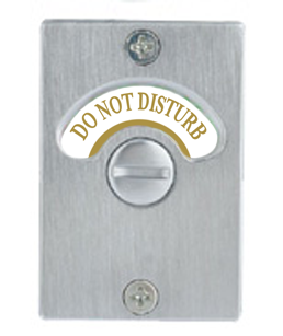 Do Not Disturb Lock, Hotel Do Not Disturb, Do Not Disturb Indicator, hotel amenities