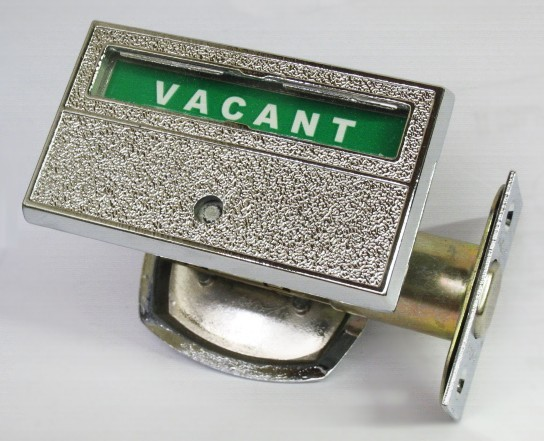Privacy Indicator Lock, Bathroom Privacy Lock, Occupancy Indicator Deadbolt