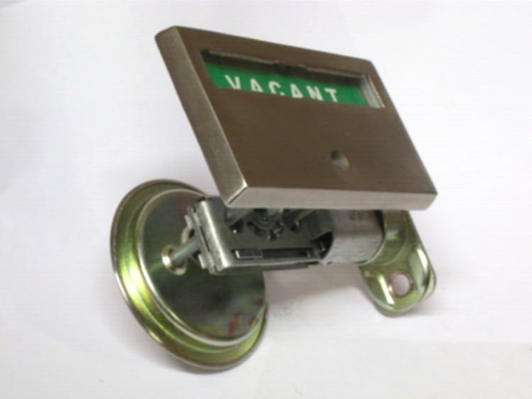 pocket door lock, pocket door indicator lock, red green pocket door indicator lock