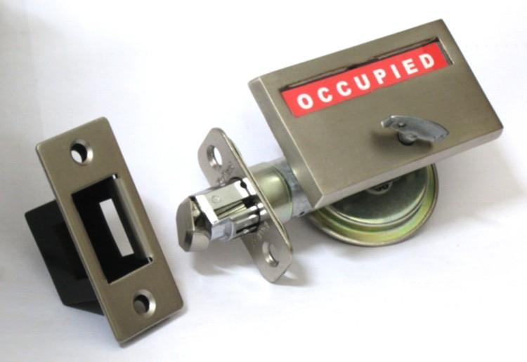 pocket door privacy lock, indicator bathroom lock pocket door, sliding door privacy lock
