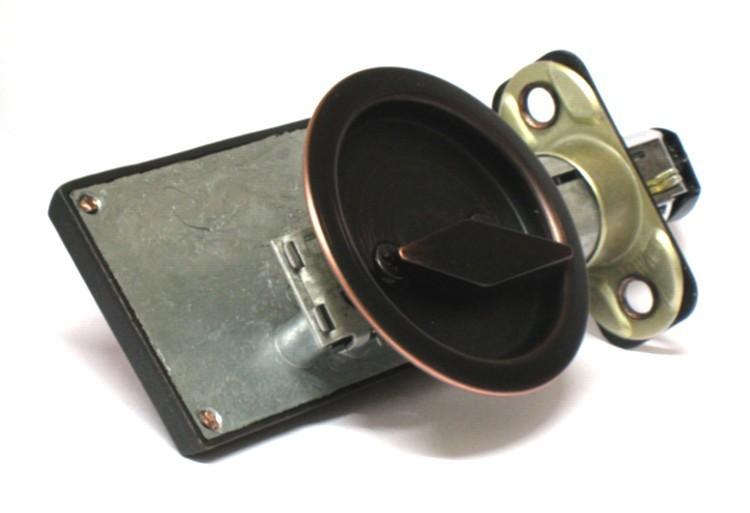 pocket door indicator lock, occupied vacant barn door lock, privacy indicator lock