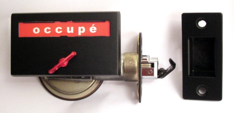 occupe vacant privacy lock, french canada indicator lock