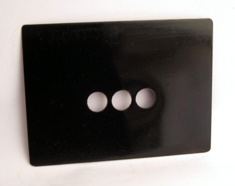 cover plate door holes