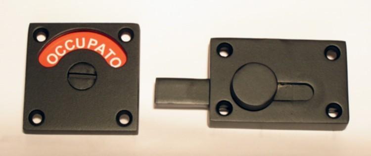 serratura del bagno, italian language restroom lock