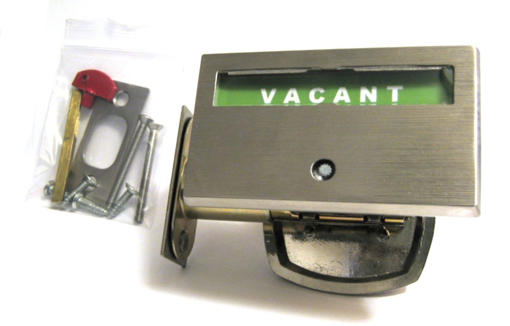 ada compliant nickel plated indicator lock