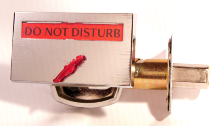do not disturb lock, do not disturb hotel