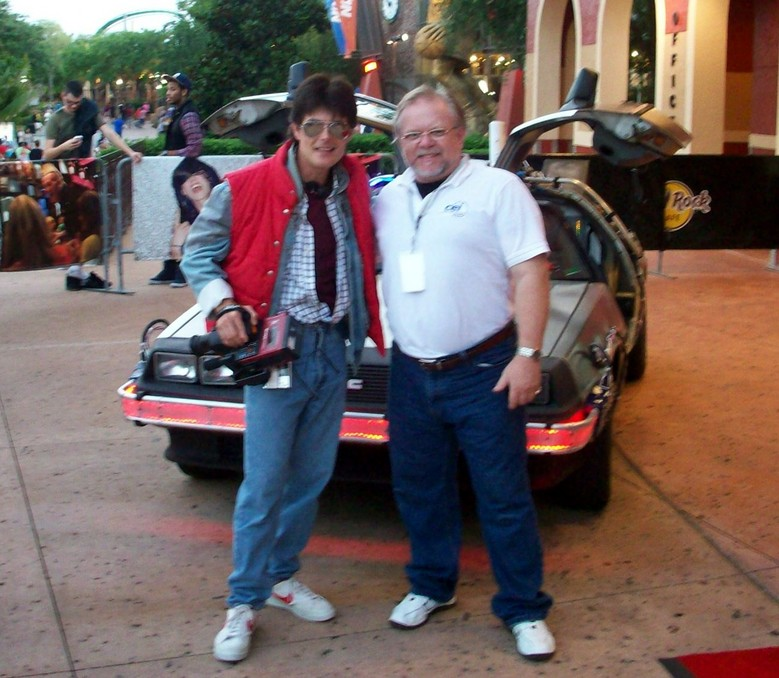 Bruce Coulombe Delorean Time Machine