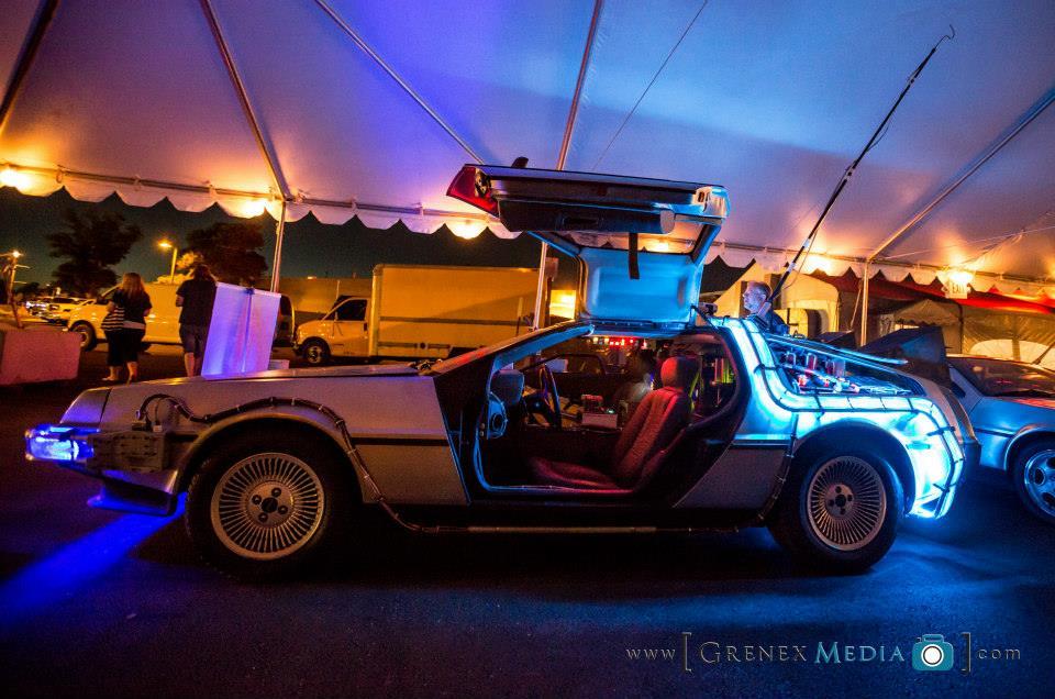 Delorean Time Machine in Florida