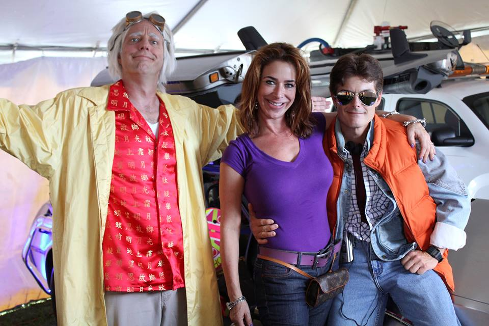 Claudia Wells Bruce Delorean
