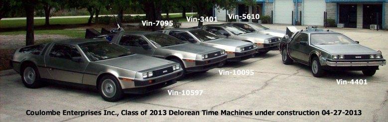 Build a Delorean Time Machine