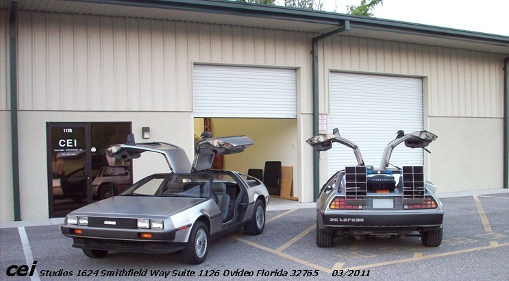 Bruce Coulombe Delorean Time Machines